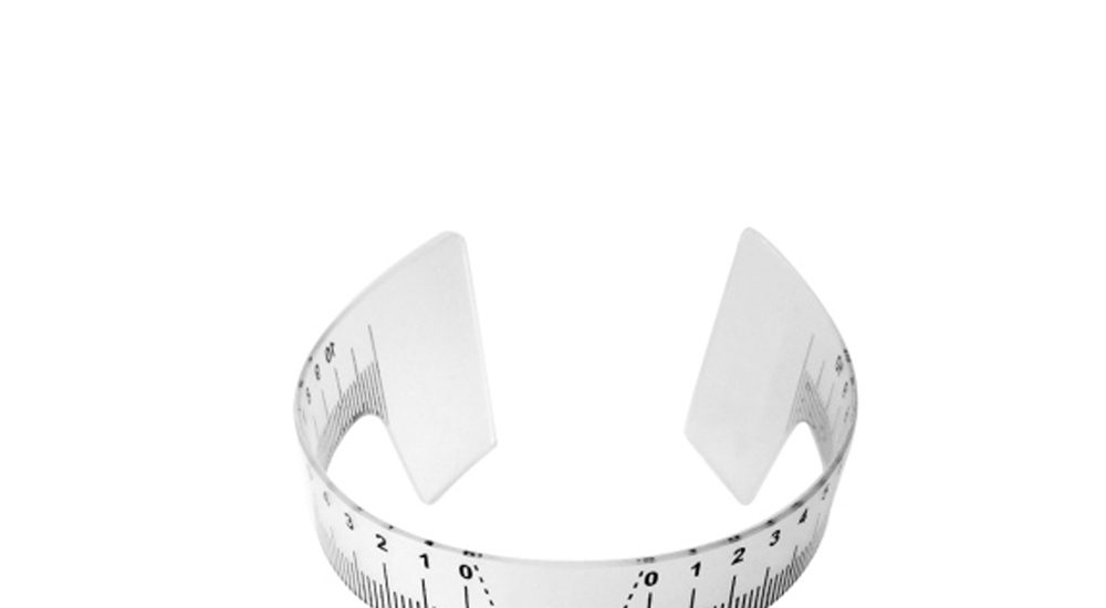 Round Brow Ruler